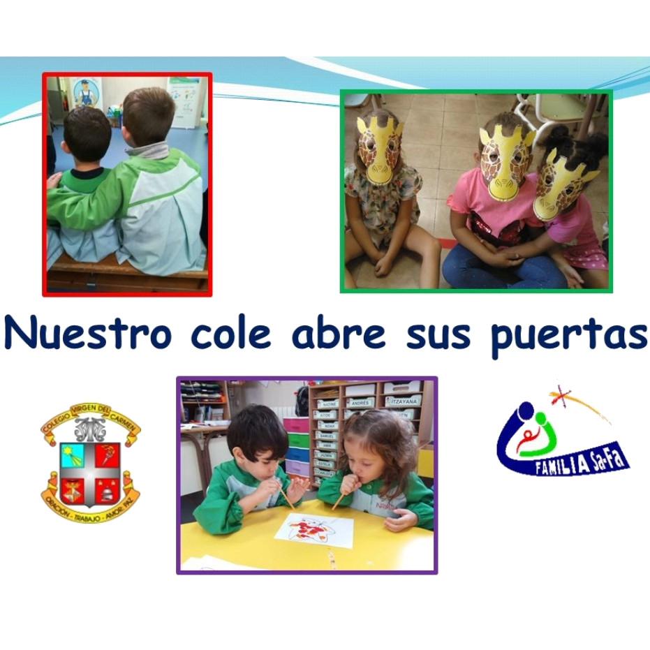 Información del proyecto educativo de educación infantil